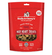 Freeze-Dried Raw Beef Heart Treats