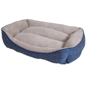 Aspen Pet Rectangular Bolster Dog Bed