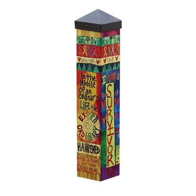 'Survivor' Art Pole by Studio M, 20