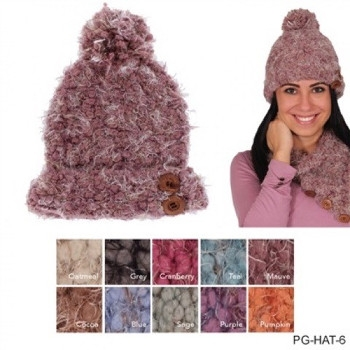 Nubby Winter Hat by Simply Noelle