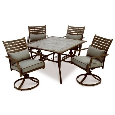 Melrosa Outdoor Dining Set, 5 Piece