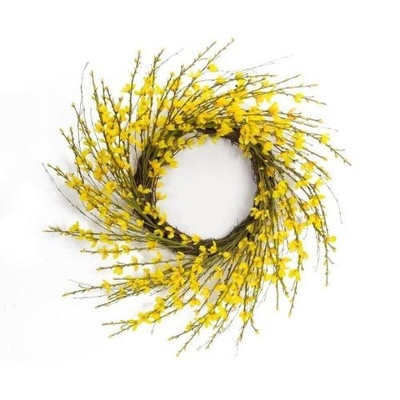Forsythia Wreath by Melrose International