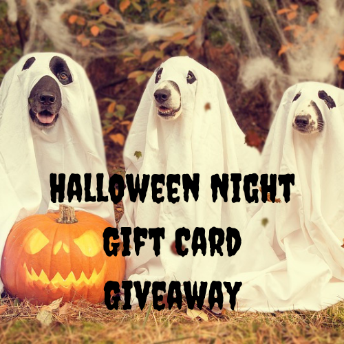 Halloween Night Gift Card Giveaway!