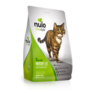 Nulo Freestyle Indoor Cat Duck & Lentils Recipe