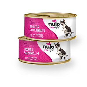 Nulo Freestyle Grain Free Cat Can Trout & Salmon Recipe