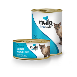 Nulo Freestyle Grain Free Cat & Kitten Can Salmon & Mackerel Recipe