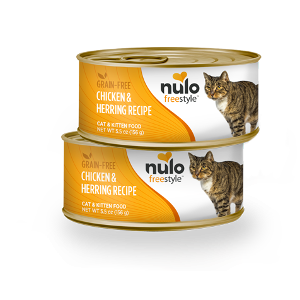 Nulo Freestyle Cat & Kitten can Chicken & Herring Recipe