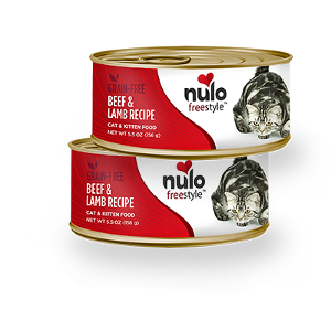 Nulo Freestyle Cat & Kitten Can Beef & Lamb Flavor