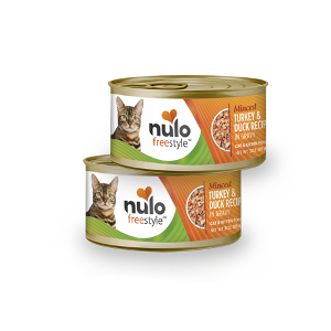 Nulo Freestyle Cat & Kitten Minced Turkey and Duck in Gravy
