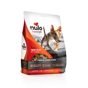 Nulo Freestyle Freeze-Dried Raw Dog food Turkey Recipe w/ Cranberries