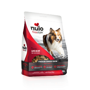 Nulo Freestyle Freeze-Dried Raw Dog Food-Lamb Recipe w/ Raspberries