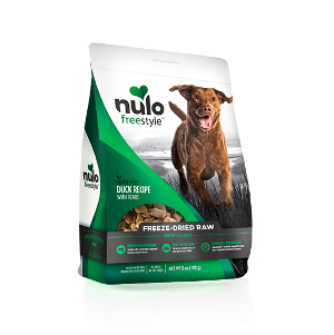 Nulo Freestyle Freeze-Dried Raw Dog Food-Duck Recipe with Pears