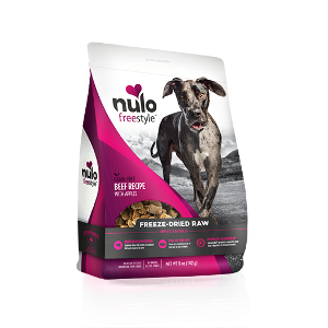 Nulo Freestyle Freeze-Dried Raw Dog Food-Beef Recipe with Apples