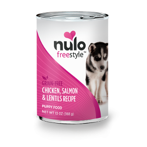 Nulo Freestyle Grain-Free Wet Chicken, Salmon & Lentils for Puppies