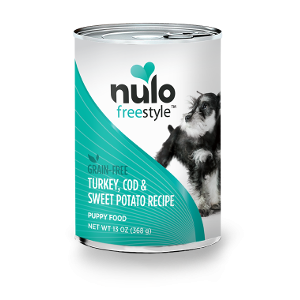 Nulo Freestyle Grain Free Wet Food-Turkey, Cod & Sweet Potato Puppy