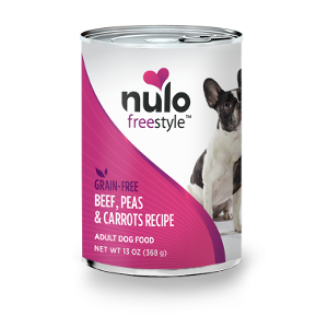 Nulo Freestyle Grain Free Beef, Peas & Carrots Wet Food for Adult Dogs