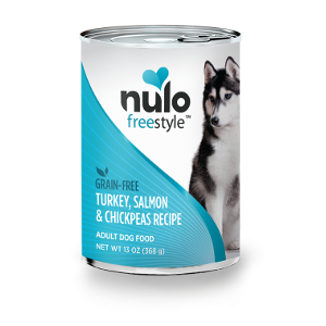 Nulo Freestyle Grain Free Turkey, Salmon & Chickpeas Wet Food for Adult Dogs