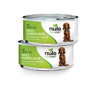 Nulo Freestyle Grain Free Duck & Chickpeas Wet Food for Small Breed Dogs