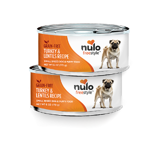 Nulo Freestyle Grain Free Turkey & Lentils Wet Food for Small Breed Dogs