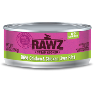 96% Chicken & Chicken Liver Pate-Cat Can