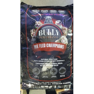 Bully Performance Natural Dog Food