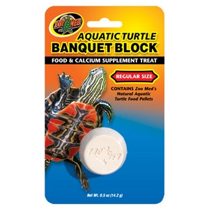 Aquatic Turtle Banquet® Block
