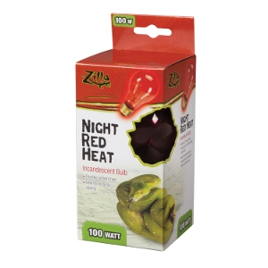 Incandescent Bulbs- Night Red 100W