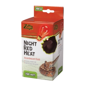 Incandescent Bulbs- Night Red 150W