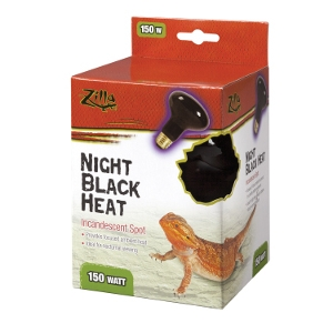 Incandescent Spot Bulbs- Night Black 150W