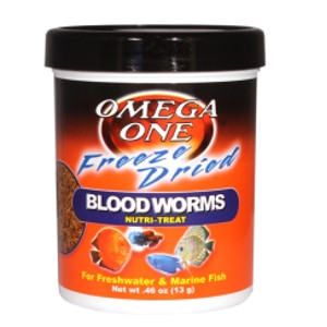 Freeze Dried Blood Worms