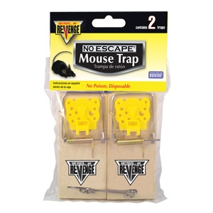 Revenge® No Escape Mouse Traps - 2 Pack