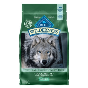 BLUE Wilderness® Grain Free Duck Recipe for Adult Dogs