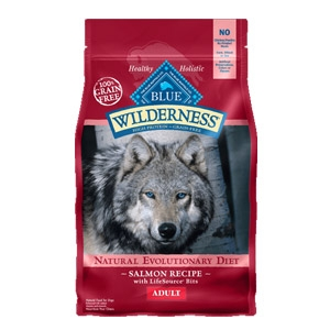 BLUE Wilderness® Grain Free Salmon Recipe for Adult Dogs