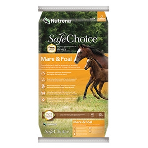Nutrena® SafeChoice® Mare & Foal Horse Feed