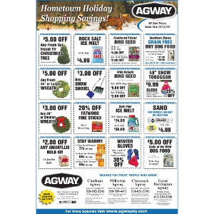 Hometown Holiday Shopping Savings!