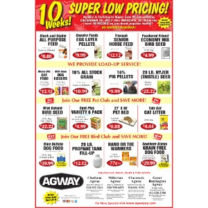 10 Weeks of Super Low Pricing!