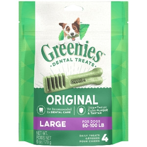 GREENIES™ Original Large Dog Dental Treats 17 Pack