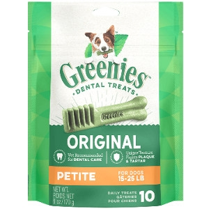GREENIES™ Original Petite Dog Dental Treats 45 Pack