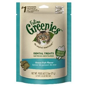 FELINE GREENIES™ Dental Treats Ocean Fish Flavor 5.5oz Pack