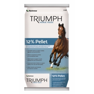 Nutrena Triumph 12% Pelleted Horse Feed