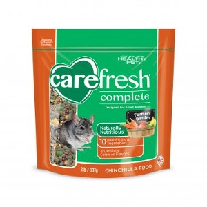 Healthy Pet Carefresh Complete Chinchilla Food 2 Pound