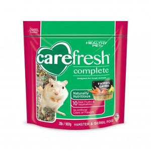Healthy Pet Carefresh Complete Hampster and Gerbil Food 2 Pound