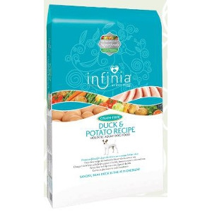 Infinia Duck & Potato Recipe Holistic Adult Dog Food