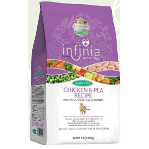 Infinia Chicken & Pea Recipe Holistic Cat Food