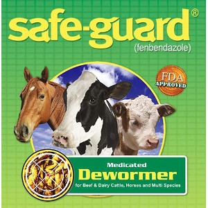 Safeguard Multispecies Dewormer