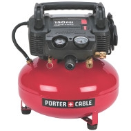 Porter Cable Electric 4 Gallon Air Compressor