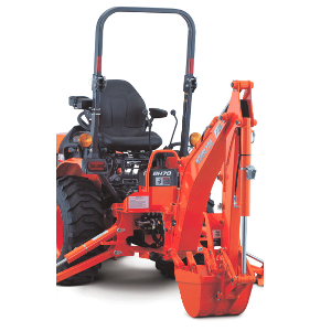 Kubota Backhoe Attachment for 4wd Kubota Tractor