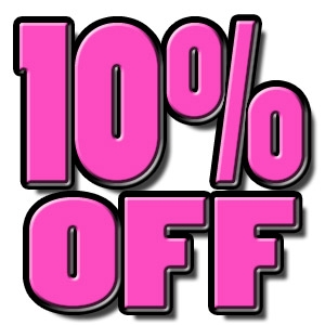 10% Off Total Online Purchase