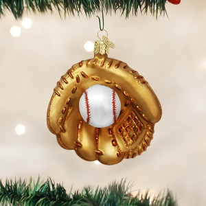 Baseball Mitt Ornament by Old World Christmas
