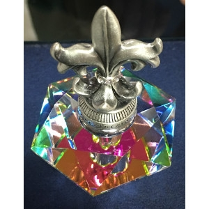 Fleur de Lis Perfume Bottle by Welforth